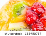 close up fruit pie | Shutterstock . vector #158950757