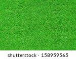 green artificial grass pattern... | Shutterstock . vector #158959565