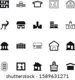 architecture vector icon set...