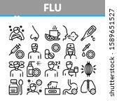 flu and coronavirus symptoms... | Shutterstock .eps vector #1589651527