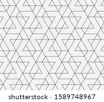 abstract geometric pattern with ... | Shutterstock .eps vector #1589748967
