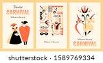 venice carnival banners or...   Shutterstock .eps vector #1589769334