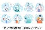 doctors team. medical staff... | Shutterstock .eps vector #1589894437