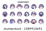 side effects of chemotherapy... | Shutterstock .eps vector #1589913691