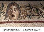 Intricate Roman Mosaic Tiles...