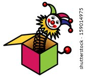 a jack in the box toy.
