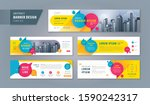 abstract banner design web... | Shutterstock .eps vector #1590242317