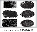 set of grunge stamp  | Shutterstock .eps vector #159024491