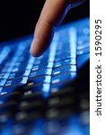 type it  keyboard of computer | Shutterstock . vector #1590295