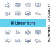 web icon set and plugins with...
