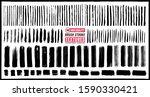 brush stroke textures. 140 high ... | Shutterstock .eps vector #1590330421