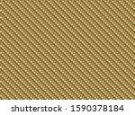 vector golden carbon fiber... | Shutterstock .eps vector #1590378184