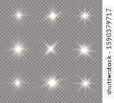 bright star. sparkling magical... | Shutterstock .eps vector #1590379717