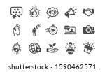 brand ambassador icons.... | Shutterstock .eps vector #1590462571