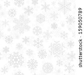 christmas seamless pattern from ... | Shutterstock .eps vector #159050789