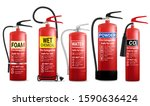 Realistic Red Fire Extinguisher ...