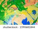 abstract art background. hand... | Shutterstock . vector #1590681844
