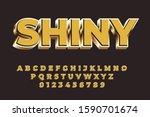 modern styled 3d trendy set of...   Shutterstock .eps vector #1590701674