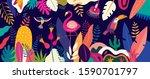 vector colorful illustration... | Shutterstock .eps vector #1590701797
