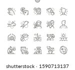 dermatology well crafted pixel... | Shutterstock .eps vector #1590713137