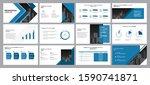 business presentation... | Shutterstock .eps vector #1590741871