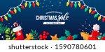 christmas holidays seasonal...   Shutterstock .eps vector #1590780601