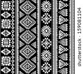 tribal ethnic seamless    Shutterstock .eps vector #159081104