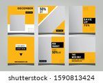 social media posting templates  ... | Shutterstock .eps vector #1590813424