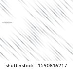 abstract lines grey and white... | Shutterstock .eps vector #1590816217