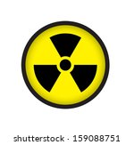sign of radioactive | Shutterstock . vector #159088751