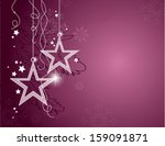 christmas background. abstract... | Shutterstock .eps vector #159091871
