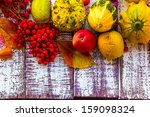 Autumn Fall Background Table...