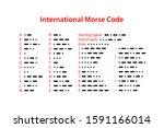International Morse Code. Set...