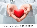 female doctor with the... | Shutterstock . vector #159119795