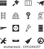 construction vector icon set... | Shutterstock .eps vector #1591244257