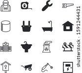 construction vector icon set... | Shutterstock .eps vector #1591244431
