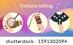 set see various horoscope flat...   Shutterstock .eps vector #1591302094