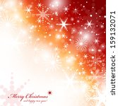 festive christmas background  ... | Shutterstock .eps vector #159132071