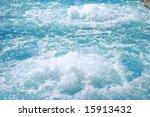 blue beautiful water in the... | Shutterstock . vector #15913432