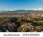 Beautiful Aerial View Of San...