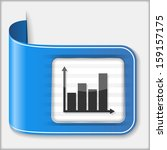 abstract icon of a chart
