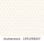 abstract geometric pattern... | Shutterstock .eps vector #1591598347