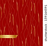 Luxury seamless golden pattern. Vector eps 10