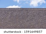 Weathered Wooden Tile Roof...