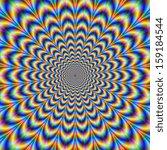 crinkle cut psychedelic pulse   ... | Shutterstock . vector #159184544