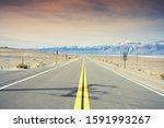 Street Road In The Desert...