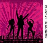 illustration on a musical theme ... | Shutterstock .eps vector #15920413