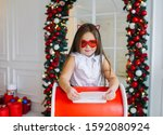 Funny Little Girl In Red...