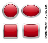 red buttons in four different... | Shutterstock .eps vector #159209135