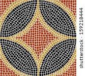 sardis vector mosaic.  | Shutterstock .eps vector #159218444